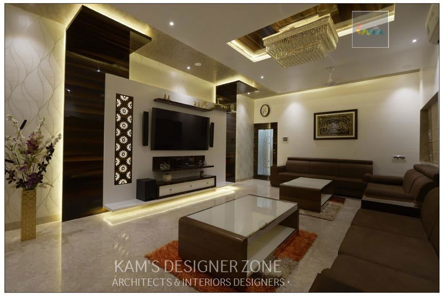 Living Room Interior Design Of Mr Zeeshan Sayyed Modern Living