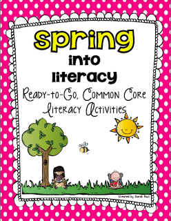Common Core Spring Reading, Writing and More