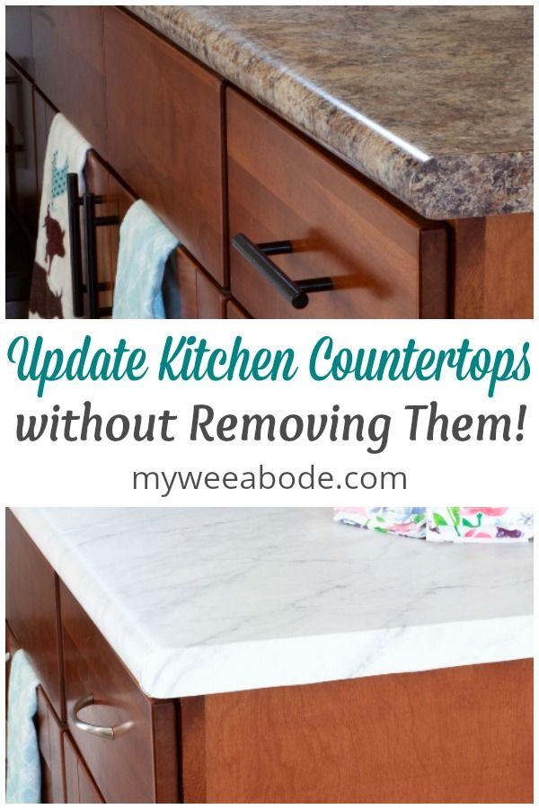 Countertop Redo Diy Contact Paper