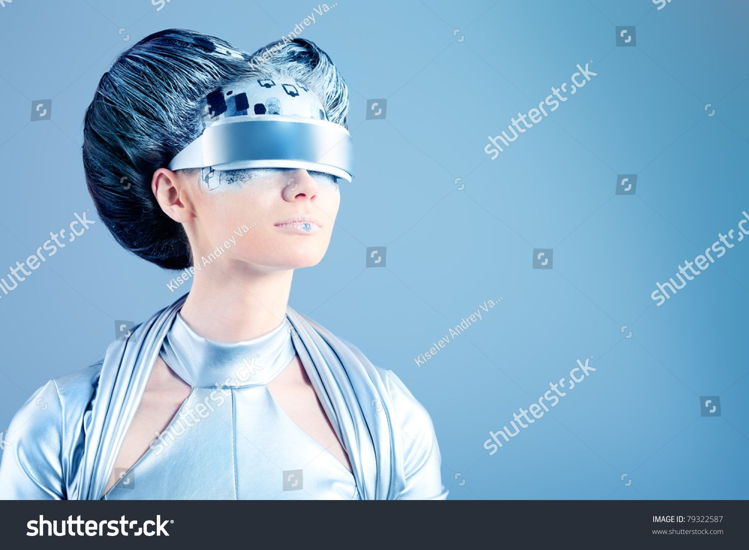Shot of a futuristic young woman wearing glasses. #Sponsored , #Affiliate, #young#futuristic#Shot#glasses