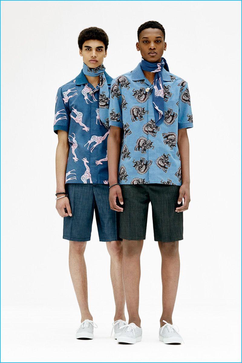 Fashion lookbook 2017 - Louis Vuitton Pre Spring 2017 Men S Collection Lookbook