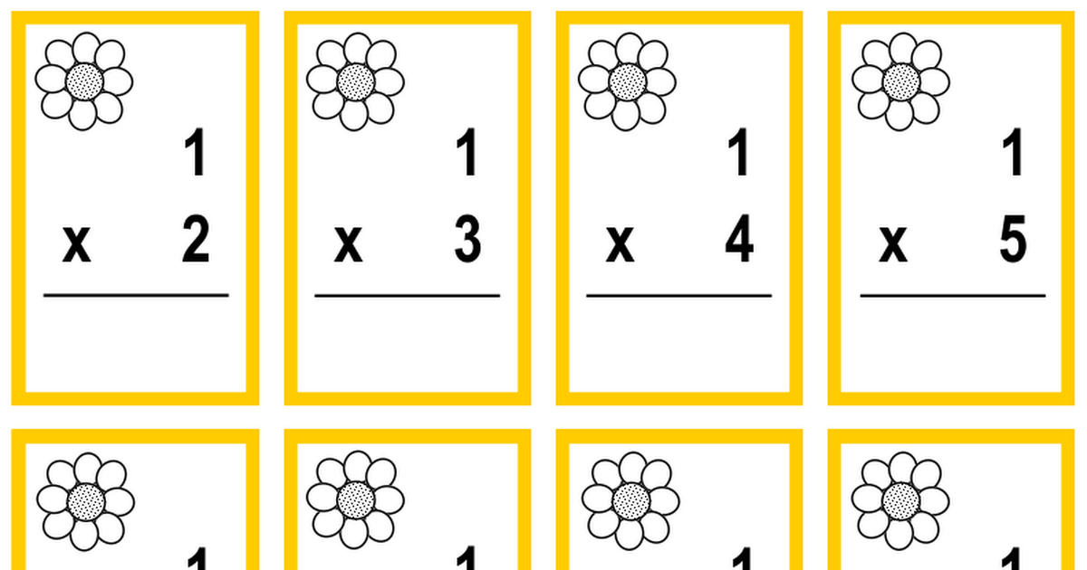 Crazy Daisy Math Game Cards.pdf (With images