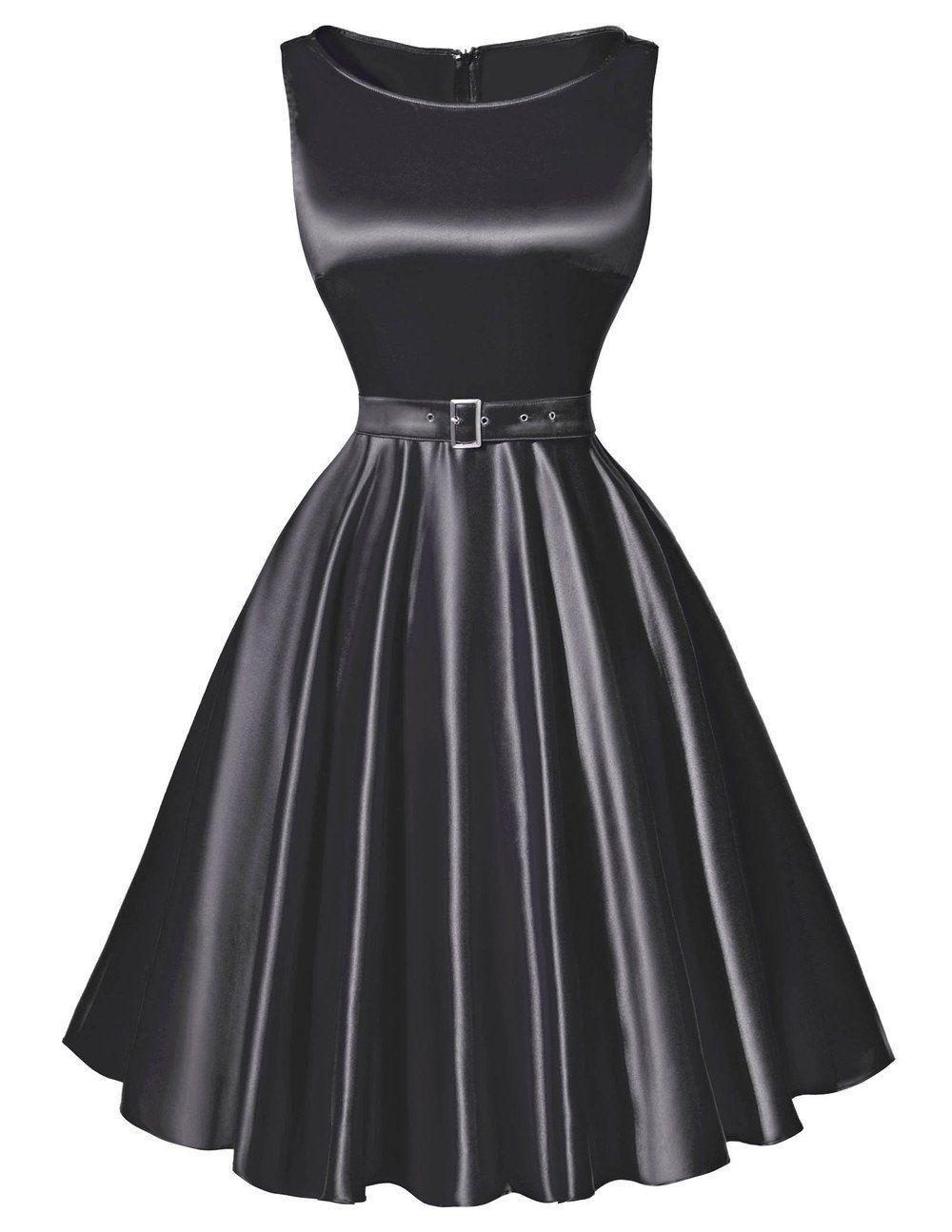 Rockabilly audrey hepburn vintage dress pinterest s style