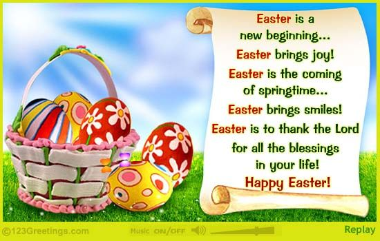 Easter Is A Christian Holiday Festival Which Is Celebrated
