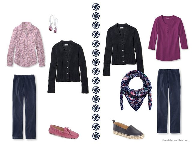 The Vivienne Files: A Navy Cardigan for Spring - 8 Outfits!