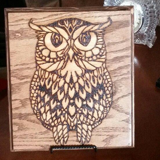 Owl Wood Burning Wood Burning Ideas Wood Burning Art