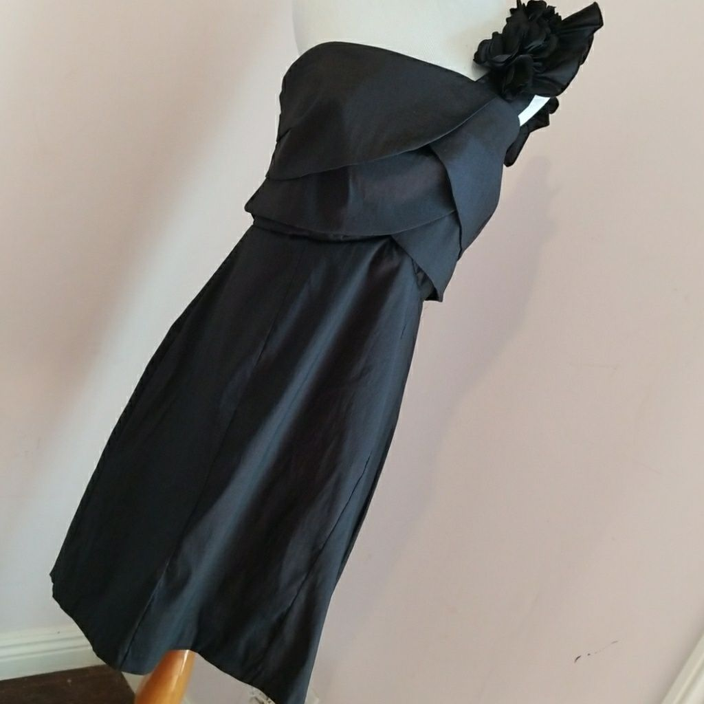 Black plus size formal dress euc products