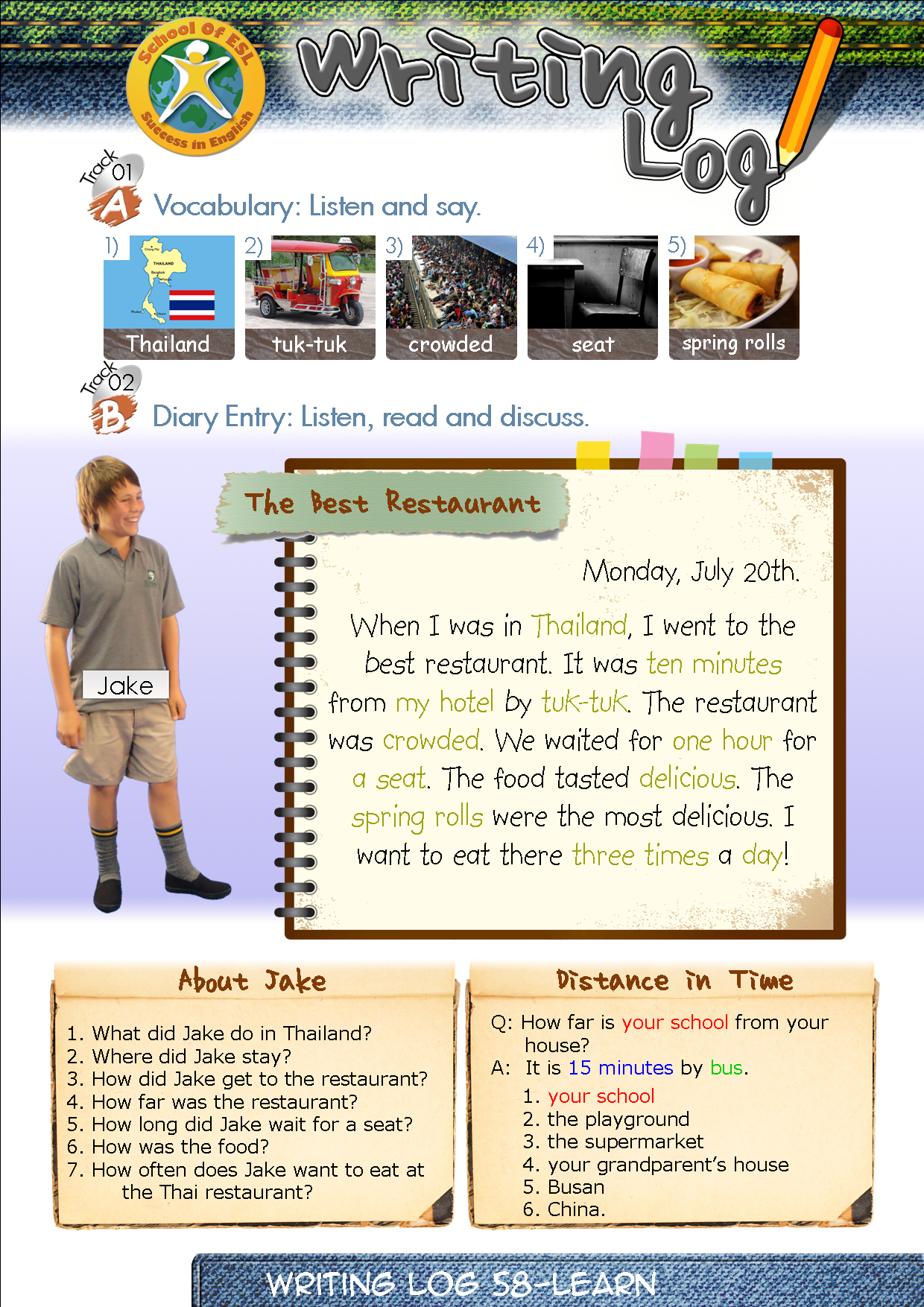 39+ Esol entry 2 writing worksheets Top