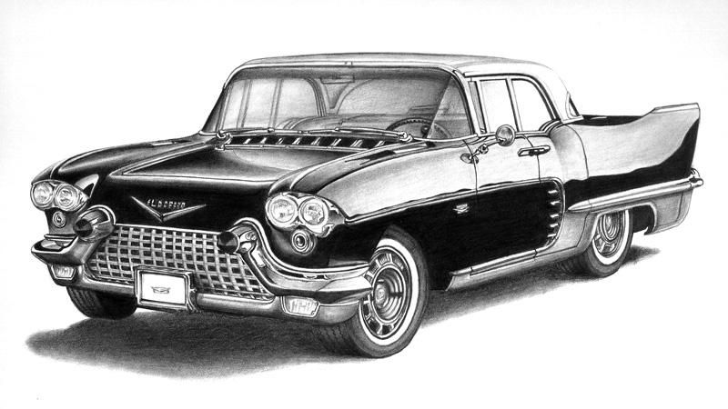 Worksheet. Dibujo a lpiz de auto terminado Pencil drawing of car finished