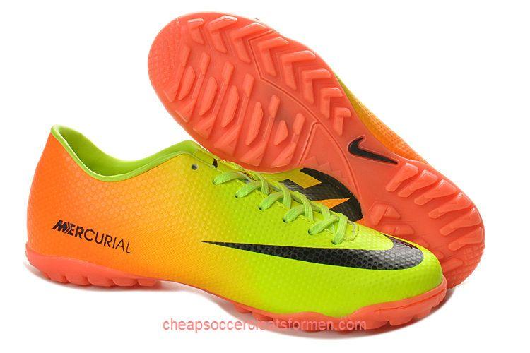 Nike Mercurial Victory IV TF Boots Volt Black Citrus  c5d7cd388