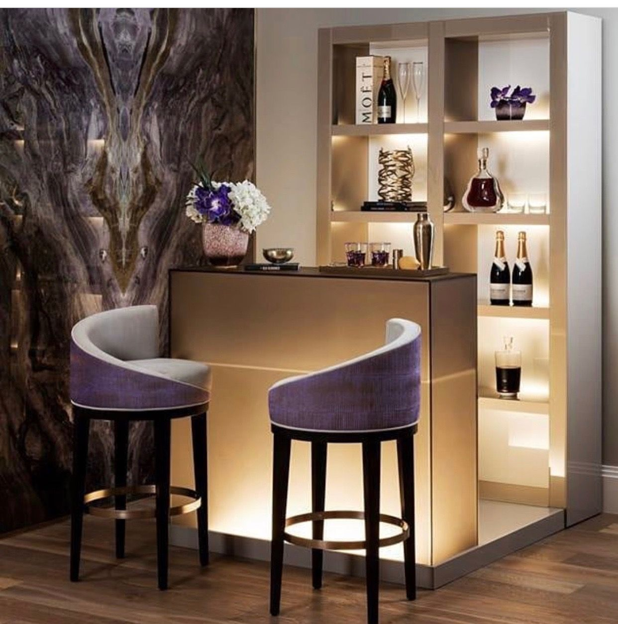 Living Large By Evora Heard Home Bar Rooms Modern Home Bar