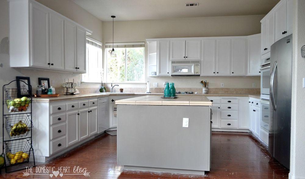 Diy painted kitchen update reveal diy kitchen