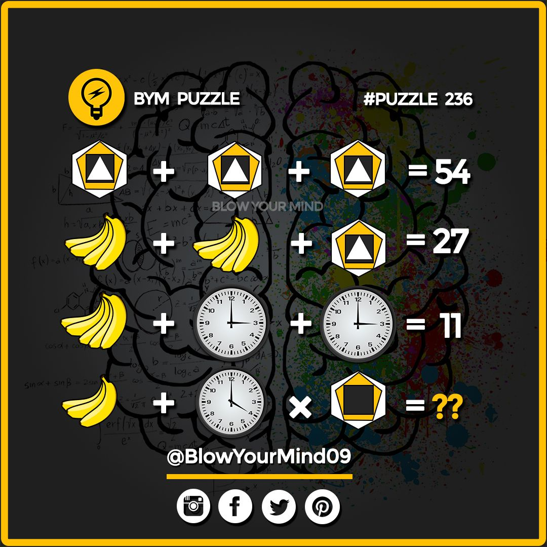 Pin About Maths Puzzles On Riddles And Brain Teaser For