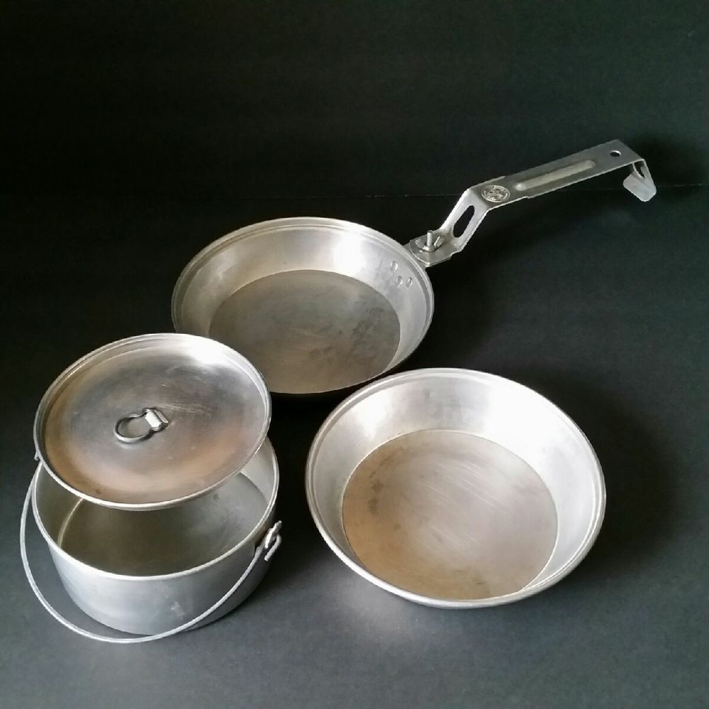Boy scouts of america mess kit bsa camping tool cook set