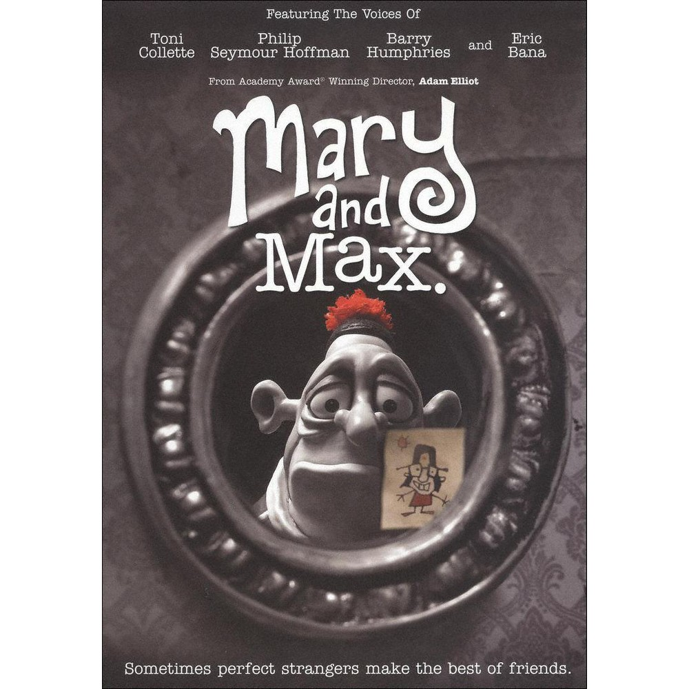 Mary And Max Dvd With Images Mary And Max Max Movie Inspirational Movies