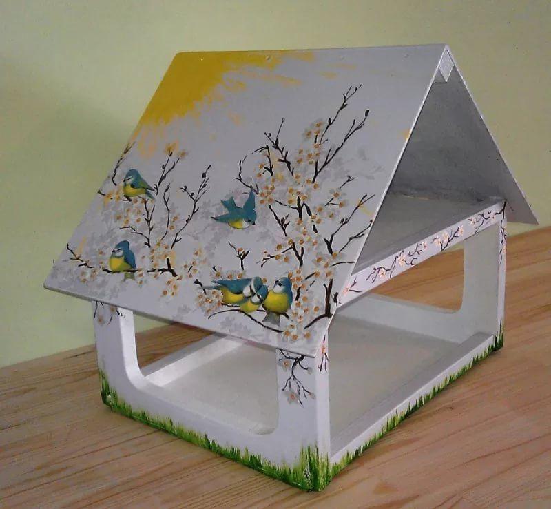 Картинки как делать кормушки для птиц