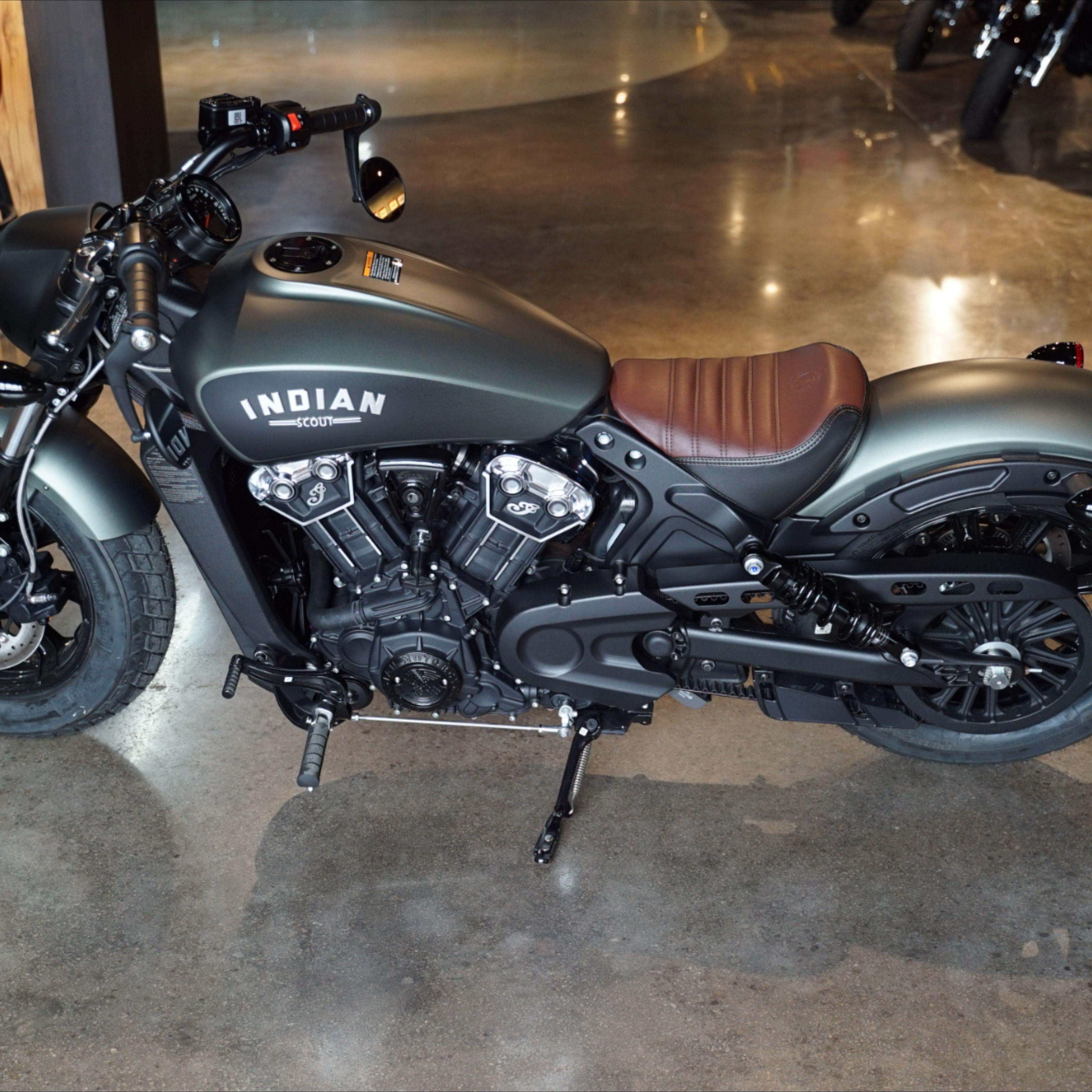 2021 Indian Scout Bobber In Alumina Jade Smoke Indian Motorcycle Indian Scout Bobber [ 4240 x 4240 Pixel ]