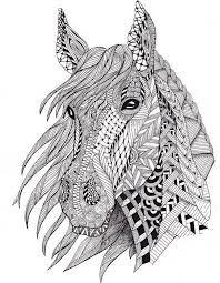 תוצאת תמונה עבור Mandala Animaux Malvorlagen Pferde Ausmalbilder Tiere Mandala Tiere
