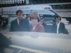 May 3, 1981: Lady Diana Spencer leaves Heathrow airport for Aberdeen where she will be reunited with her fiance, Prince Charles at Balmoral