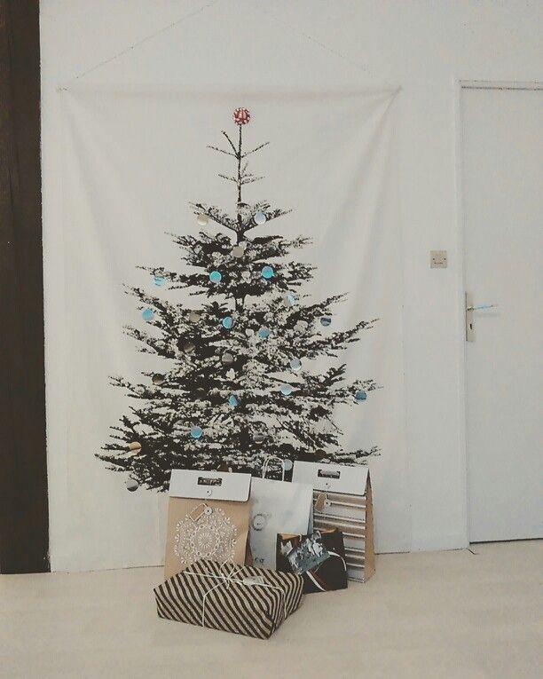 IKEA DIY | Idée déco de Noël : un sapin phosphorescent en tissus