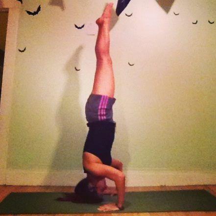 tripod headstand posetamara vanessa » yoga pose weekly