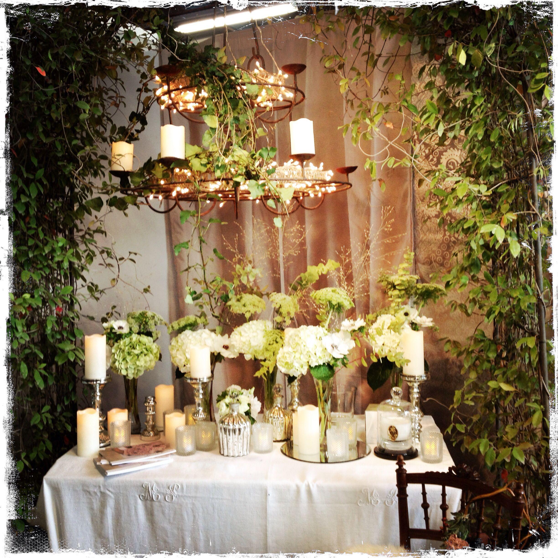 Stand Stéphanie desclouds fleuriste sur le salon du mariage a