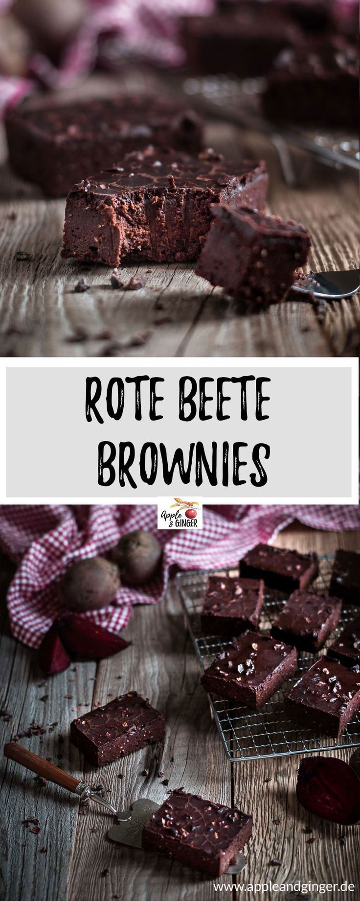 Rote Beete Brownies – Apple and Ginger