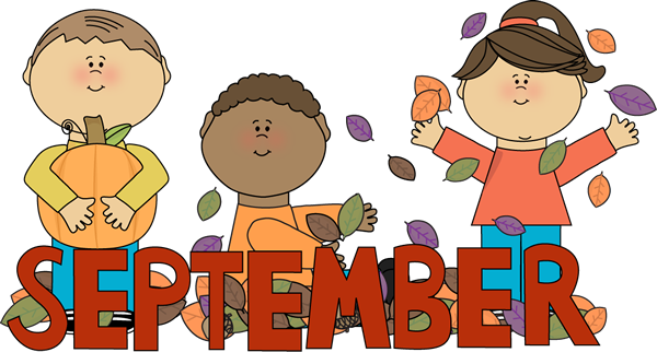Welcome September Clipart For School | Welcome september images, Hello  september images, September images