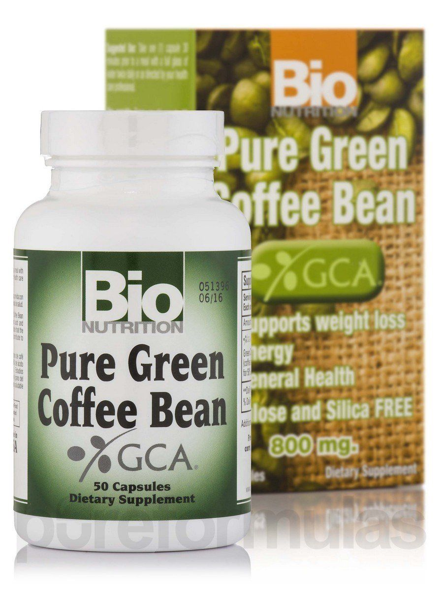 Bio nutrition coffee bean pure green you can find out