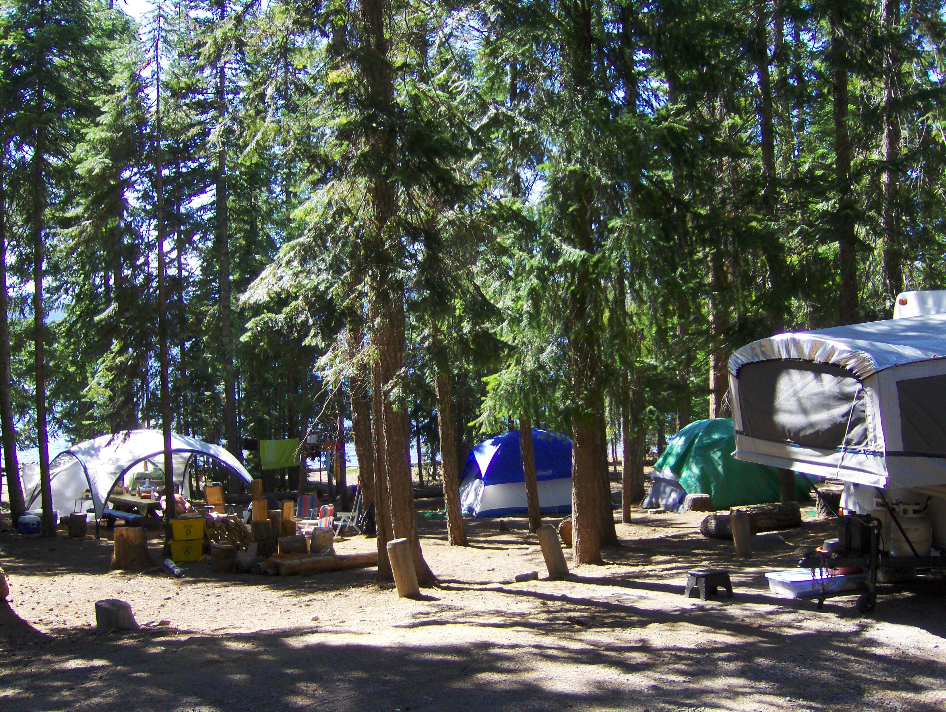 Camping at Cultus Lake, Oregon   Central oregon, Oregon, Lake