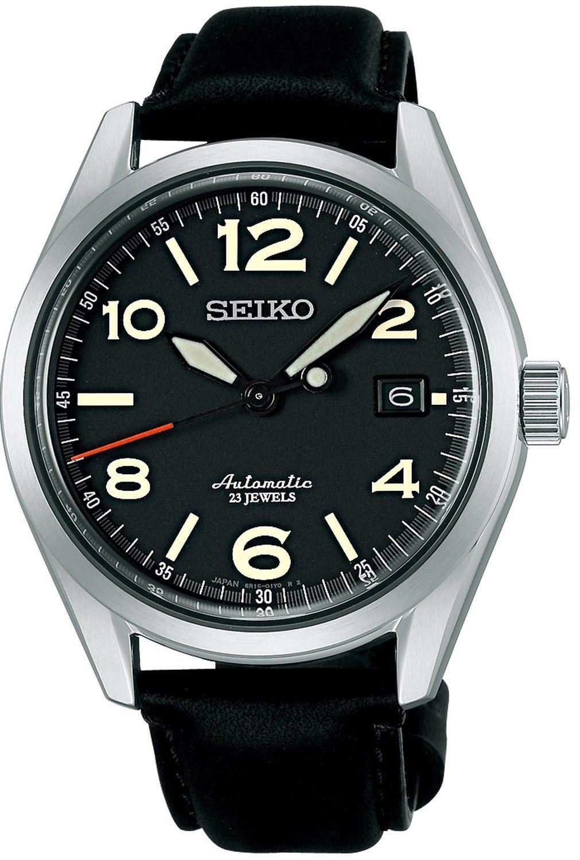 amazon com seiko mechanical self winding watch with manual winding rh pinterest com seiko automatic divers watch 200m manual manually wind seiko automatic watch