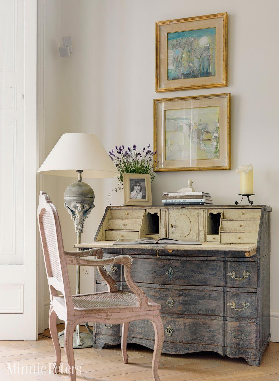 MinniePeters.com - Antique french secretaire