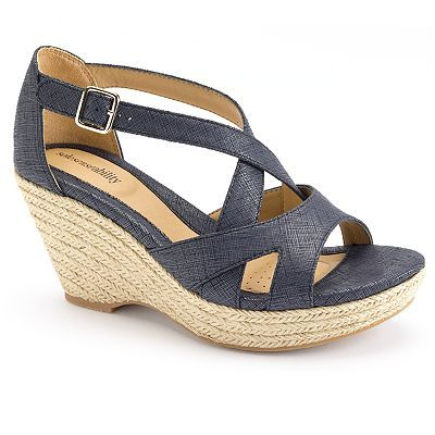 ff2b804ef Look effortlessly amazing with these women s sole (sense)ability wedges.