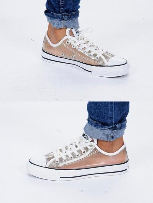 5ba31d90f1 See through converse | s h o e s in 2019 | Shoe boots, Sock shoes ...