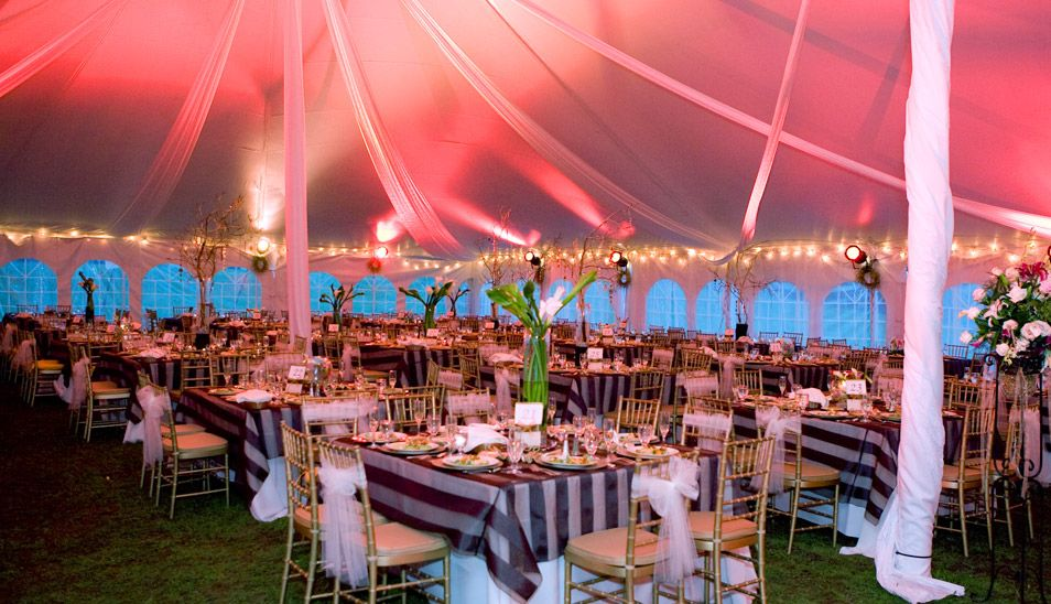my dream reception tent!
