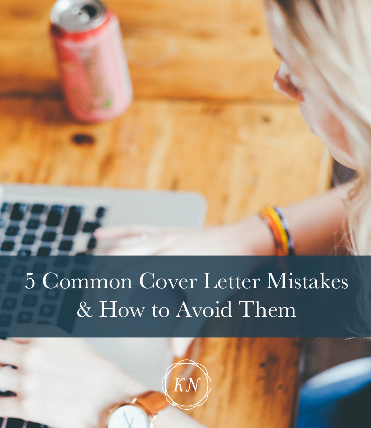 Common Cover Letter Mistakes  How To Avoid Them
