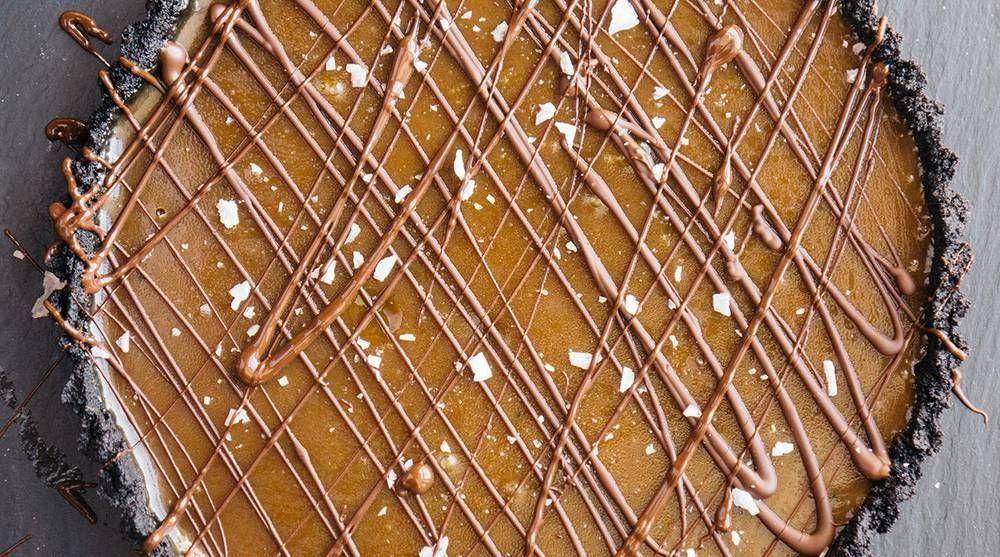 Gooey chocolate caramel tart recipe chocolate caramel
