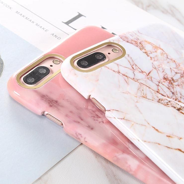 best sneakers 3a0c2 69235 Exquisite Glossy Marble Phone Case For iphone 7 7Plus High Quality ...