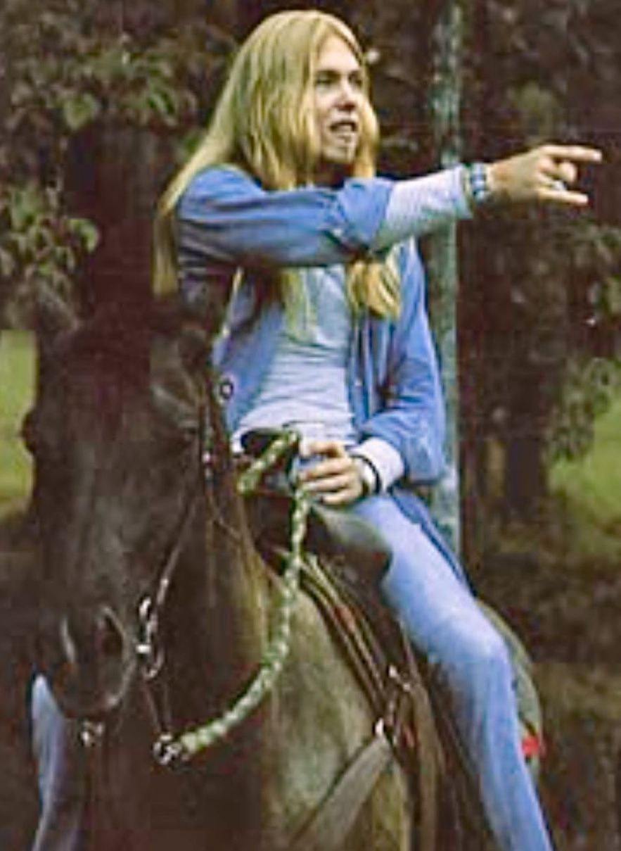 Gregg Allman Loved Riding Horses Allman Brothers Allman Brothers Band Brother