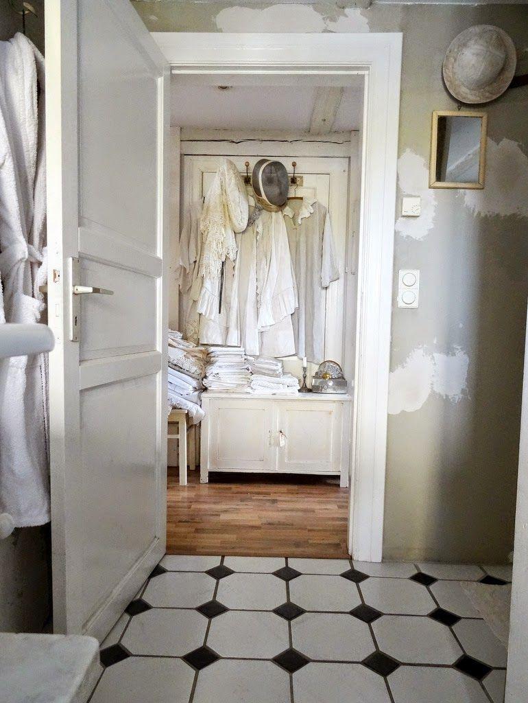 Badezimmer Im Shabbychic,
