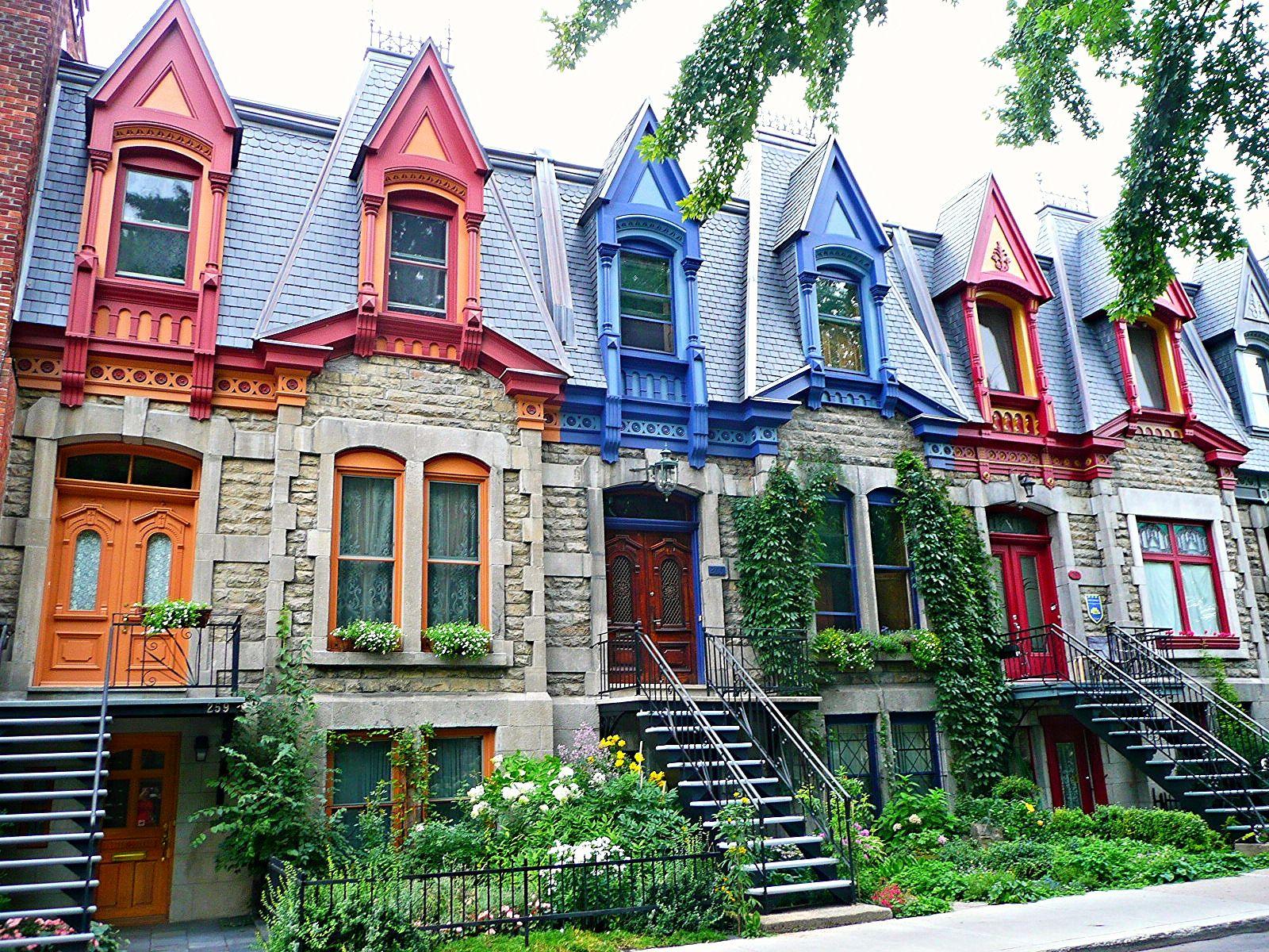 Plateau Du Mont Royal 40 In 2020 Montreal Architecture