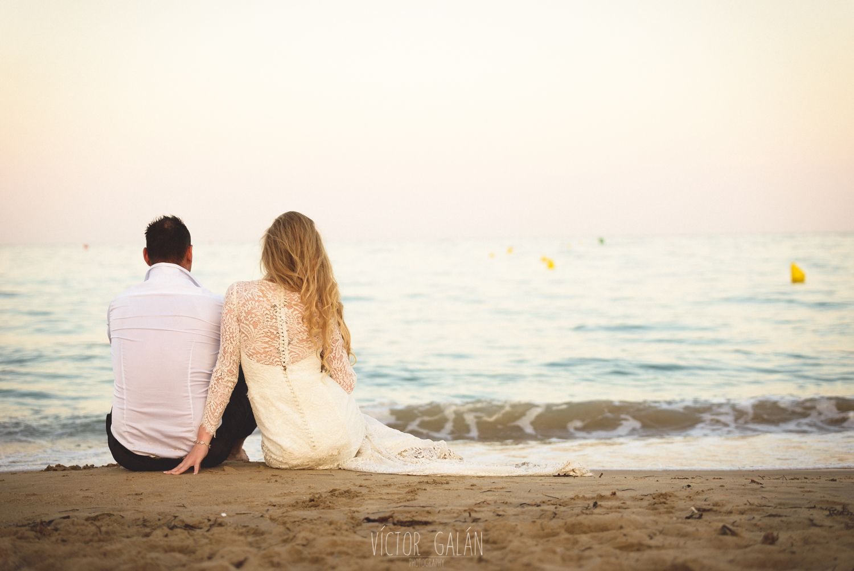 Beach wedding pre shoot  postboda playa torrevieja fotografia bodas  Fotos en la playa