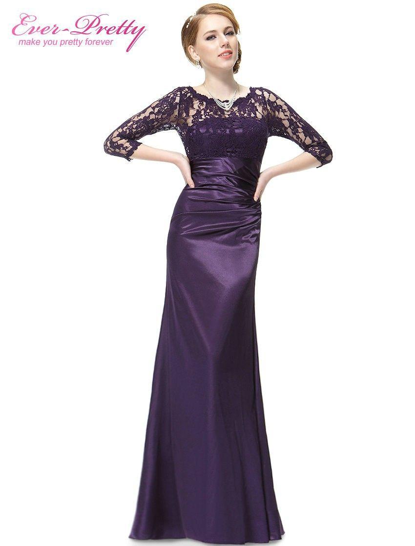 Cheap Vestidos noche siempre Pretty HE09882 elegante 3/4 del cordón ...