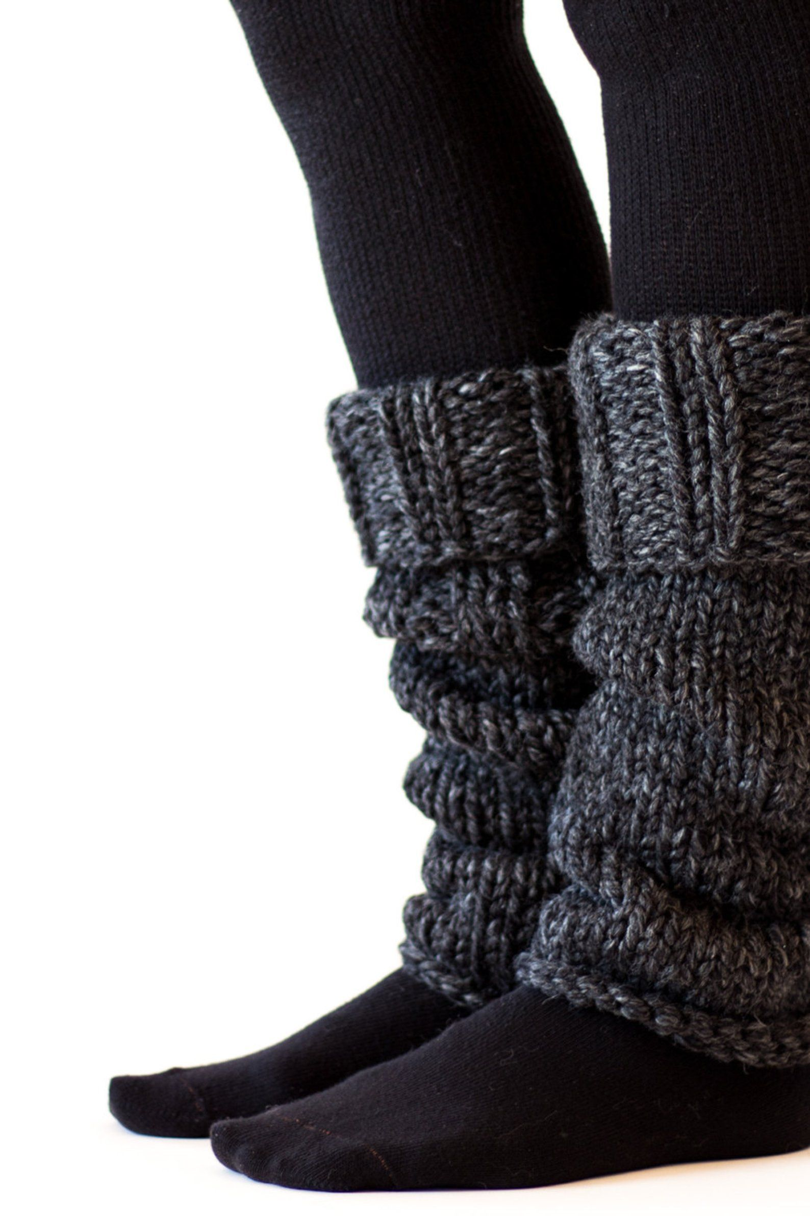 Boot Cuff Leg Warmers Knitting Pattern HARMONY Mother to ...