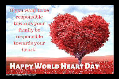 Happy World Heart Day World Heart Day Heart Day Hearts Day Quotes