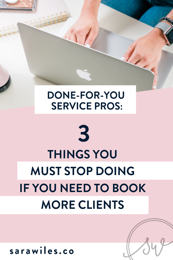Stop Doing This Asap If You Want To Book More Clients In Your Va