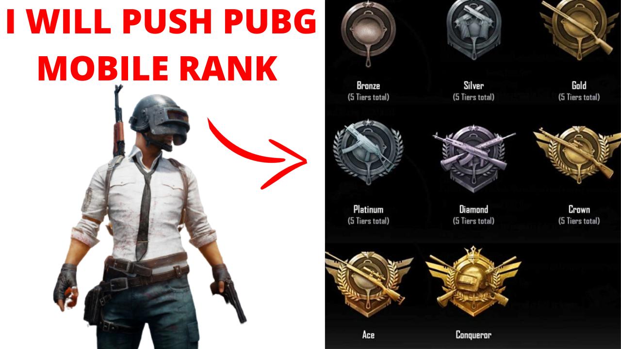 I Will Push Pubg Mobile Id Rank To The Conqueror Fast Fiverr Person Ranking