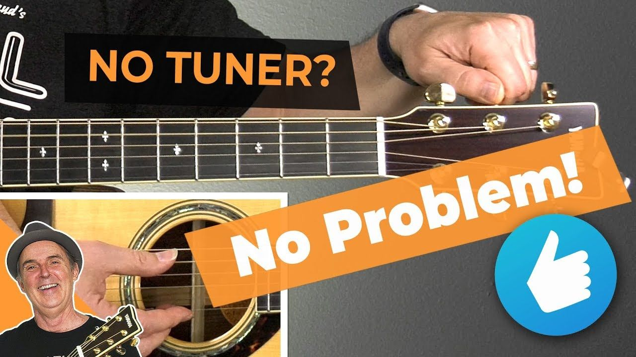 How To Tune A Guitar Without A Tuner For Beginners Guitar Tips Learn This Step By Step Easy To Follow Met Guitar For Beginners Guitar Strumming Guitar Tuners