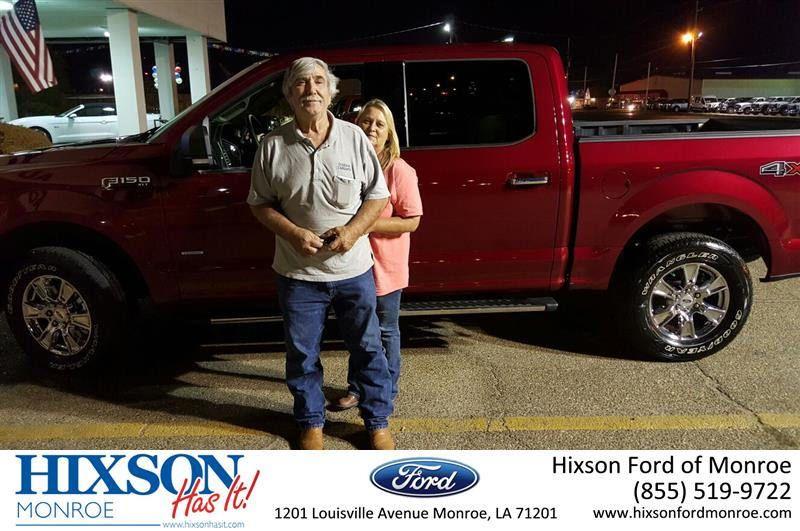 Hixson Ford of Monroe Customer Reviews Louisiana Dealer