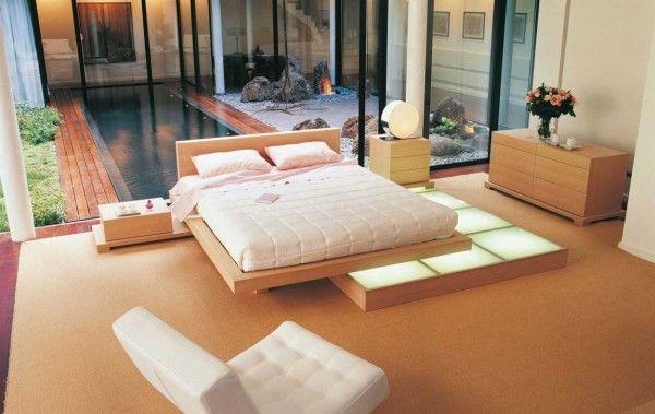 Zen Inspired Interior Design Japanese Style Bedroom Modern Bedroom Design Platform Bed Designs